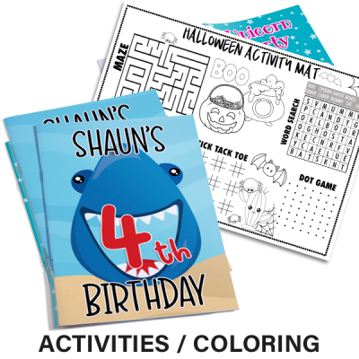 Activity Coloring