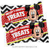 MICKEY MOUSE RICE KRISPIE TREATS PRINTABLES woo