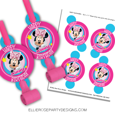 MINNIE MOUSE BLOWERS-WOO