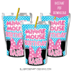 MINNIE MOUSE BOWTIQUE CAPRI SUN LABEL TEMPLATE PRINTABLE WOO
