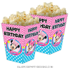MINNIE MOUSE BOWTIQUE POPCORN BOX PRINTABLE TEMPLATE WOO 2