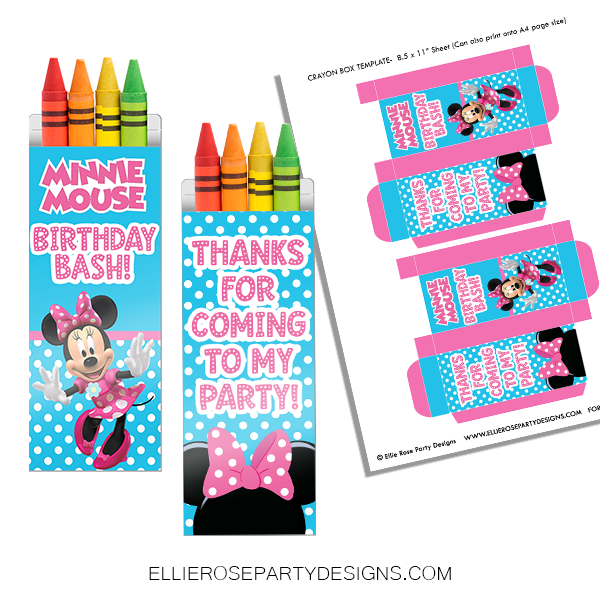 MINNIE MOUSE CRAYON BOX MOCKUP BACK WOO 2