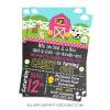 PINK FARM FARMHOUSE BARNYARD PARTY INVITATION WOO
