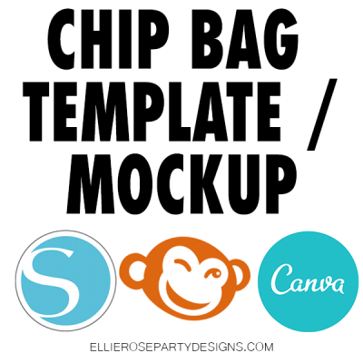 POTATO CHIP BAG TEMPLATE