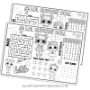 LOL ACTIVITY PLACEMAT LOL COLORING PAGE LOL PARTY BAGS