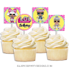 LOL CUPCAKE TOPPER TABLE DESSERT PRINTABLES