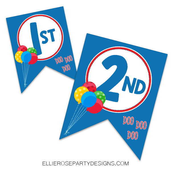 Shark Jaws Happy Birthday Banner [INSTANT DOWNLOAD]